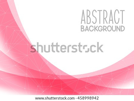 Abstract pink background for Your design
