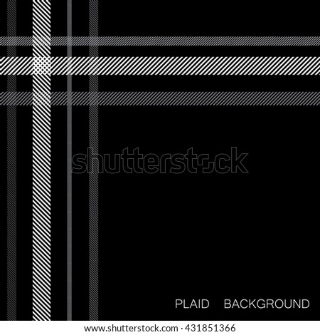 abstract plaid background, vector illustration
