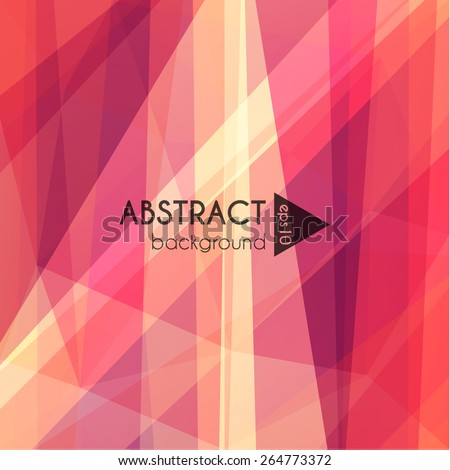 Abstract polygonal background - eps10 - stock vector