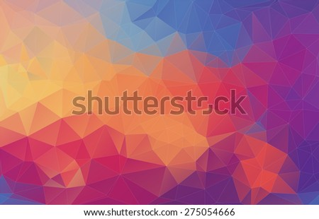 Abstract polygonal background for your web design - stock vector