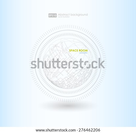 Abstract polygonal space low poly  background with connecting dots and lines. Connection structure. Vector science background. Polygonal vector background. Futuristic HUD background. - stock vector