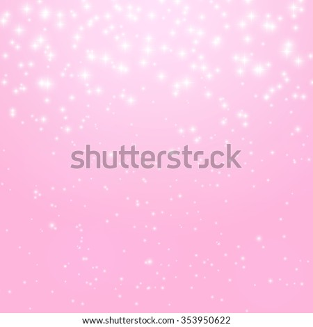 Abstract Princess Shiny Star Background Vector Illustration. EPS10 - stock vector