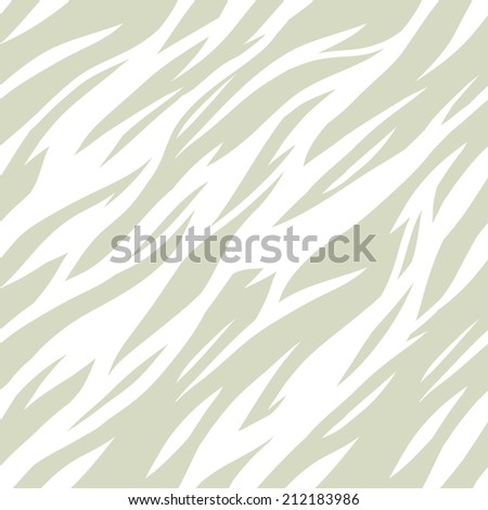 Abstract print animal seamless pattern. Zebra, tiger stripes. Light repeating background texture. Fabric design. Wallpaper - vector  - stock vector