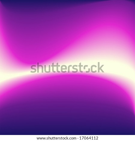 Abstract purple energy wave.