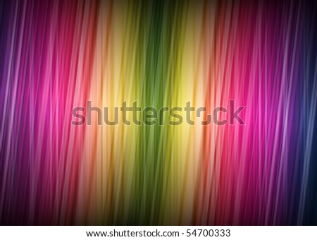 Abstract Rainbow Background (Vector) - stock vector
