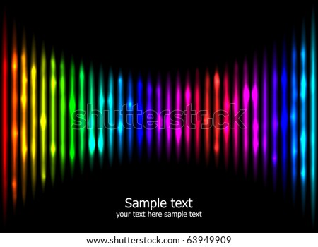 Abstract rainbow colours background eps10. Creative business template. - stock vector