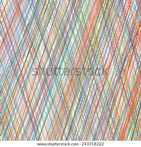 Abstract rainbow curved stripes color line art vector diagonal background - stock vector