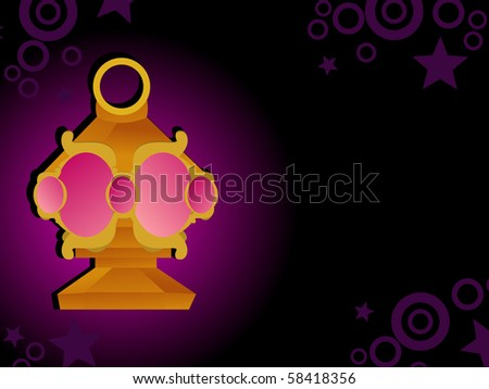 abstract ramadan background, vector illustration