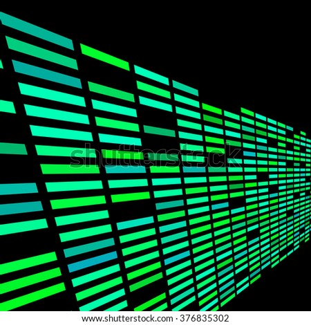 abstract rectangle data technology pattern background