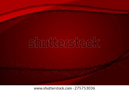 Abstract red background with place for text - vector illustration - stock vector