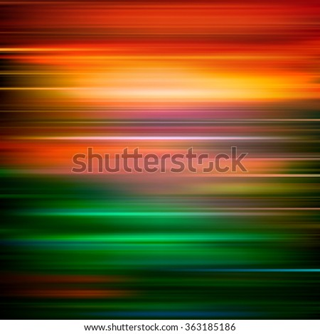 abstract red green motion blur background vector illustration - stock vector
