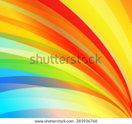 Abstract red line colorful pattern background-vector - stock vector