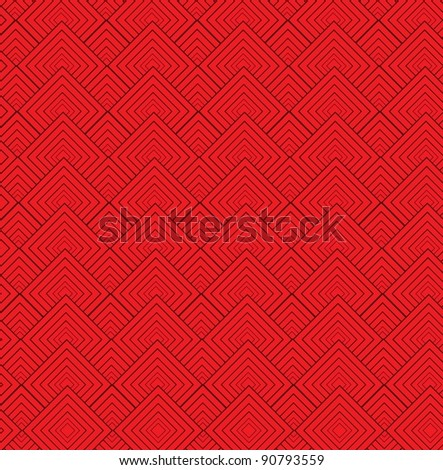 Abstract Red Texture- vector - stock vector