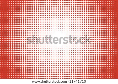 abstract red vector dots background - stock vector