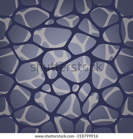 Abstract repeating background with chaotic texture. Seamless modern stylish texture can be used for wallpaper, pattern fills, web page background, surface textures. Vector hand drawn background EPS10 - stock vector