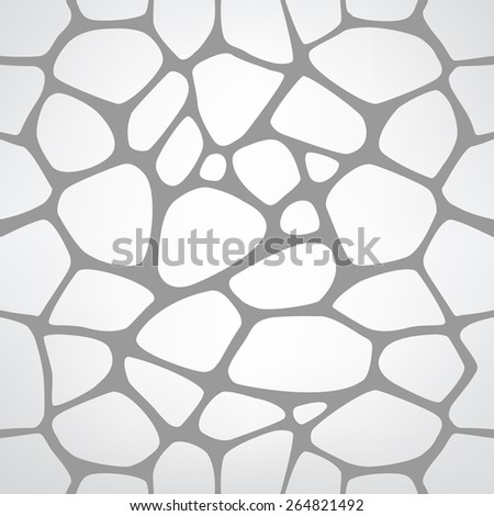 Abstract repeating background with chaotic texture. Seamless modern stylish texture. Vector hand drawn background EPS10 - stock vector