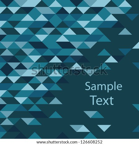 Abstract retro background - stock vector