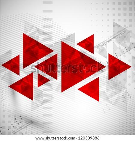Abstract retro background. Vector. - stock vector