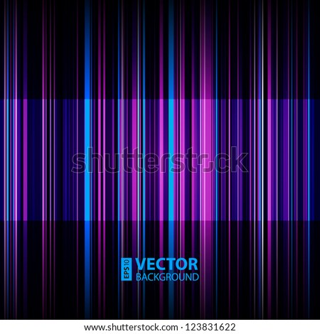 Abstract retro striped colorful background. RGB EPS 10 vector illustration