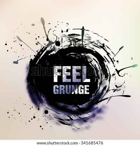 Abstract retro vintage grunge background - stock vector