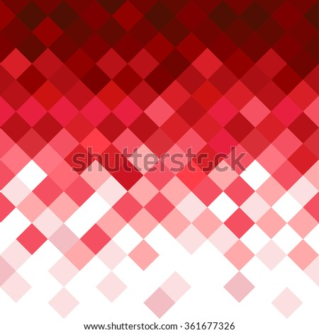 Abstract rhombus mosaic background design element. - stock vector