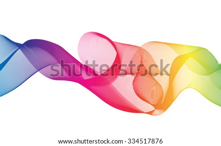 Abstract Ribbon Background. uniquely beautiful stripes.