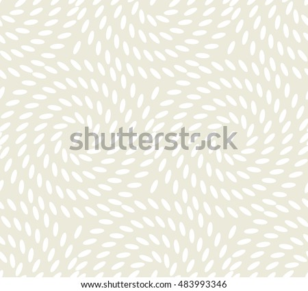 abstract rice seamless pattern. vector illustration of light pale tender texture. beige concept food background