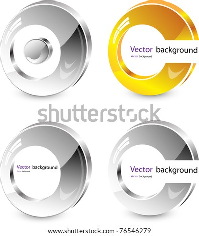 abstract ring vector - stock vector