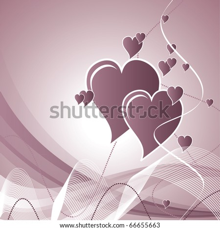 Abstract Romantic Background. eps10.