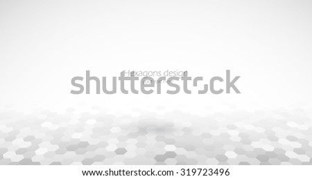 Abstract science medical background in gray color  - stock vector
