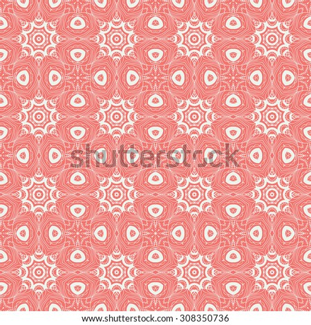 Abstract seamless background. Vector continuous pattern - stock vector