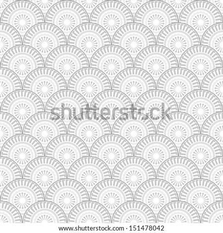 Abstract seamless geometric pattern, chevron-style.Vector illustration. - stock vector