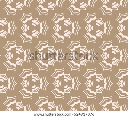abstract, seamless, geometries, pattern., Vector, illustration., Begie, color., for, wallpaper., design, page, fill