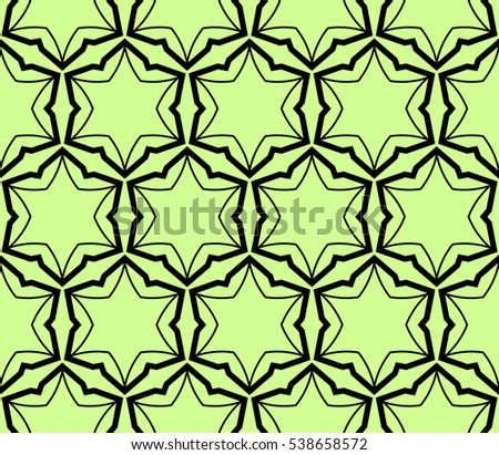 abstract seamless geometries pattern. Vector illustration. Green color. for wallpaper. design page fill