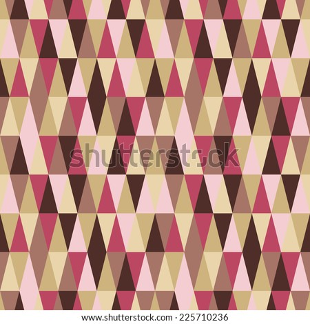 abstract seamless geometry pattern - stock vector