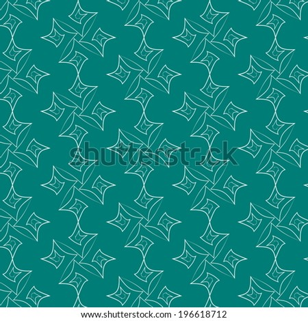 abstract seamless lines green vector background