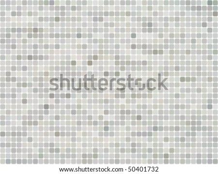 abstract seamless mosaic background - stock vector