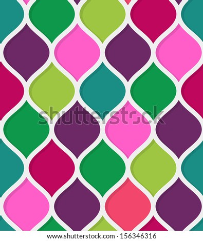 Abstract seamless multicolored texture  - stock vector
