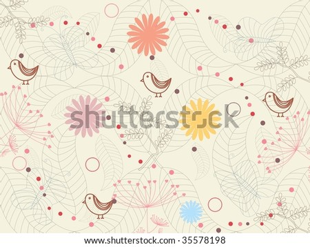 abstract seamless pattern background, vector illustration
