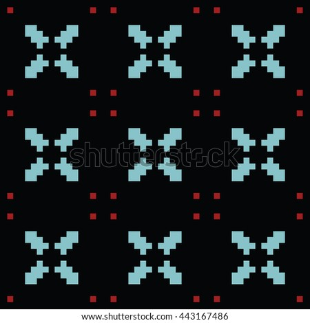 Abstract seamless pattern. Cloth design, wallpaper.