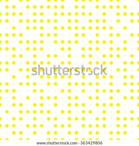 Abstract Seamless Pattern . Halftone Pattern . Seamless Pattern with Dots . Yellow Pattern . Vector Pattern . Halftone Dots Pattern . Vector Seamless Pattern . Seamless Pattern . - stock vector