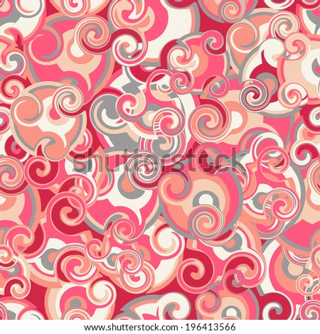 Abstract seamless pattern in vector