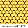 Abstract seamless pattern of honeycomb form. Background for your design. Vector illustration. - stock vector