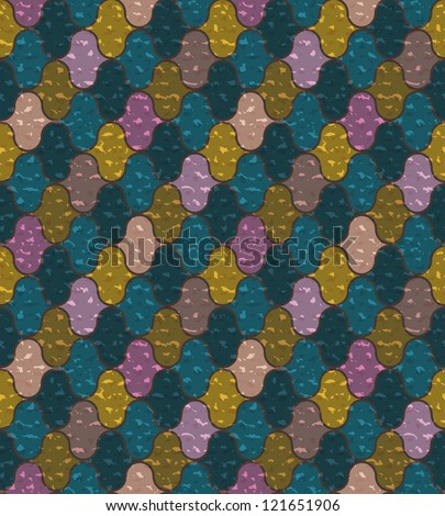 Abstract seamless pattern. Vector illustration for your design - stock vector
