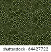 Abstract seamless pattern with cells. Vector chemistry texture. - stock vector