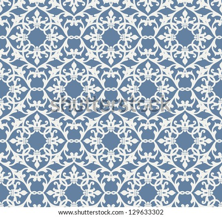 Abstract seamless pattern with ornament