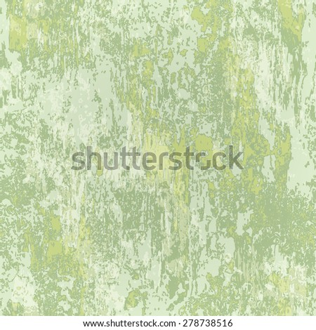 abstract seamless texture of light green rusted metal - stock vector