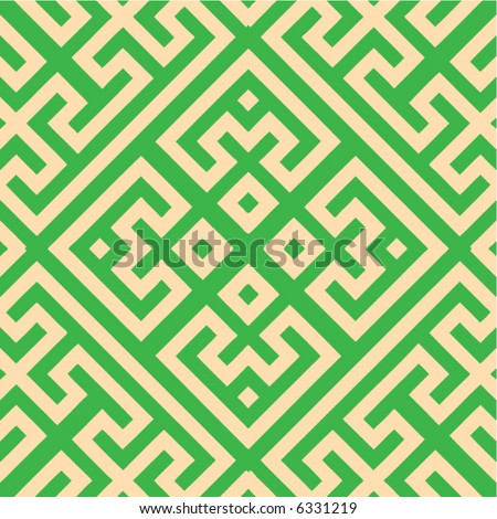 Abstract seamless vector pattern - stock vector