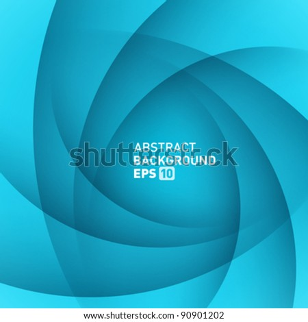 Abstract shapes swirl vector background. Eps 10. - stock vector