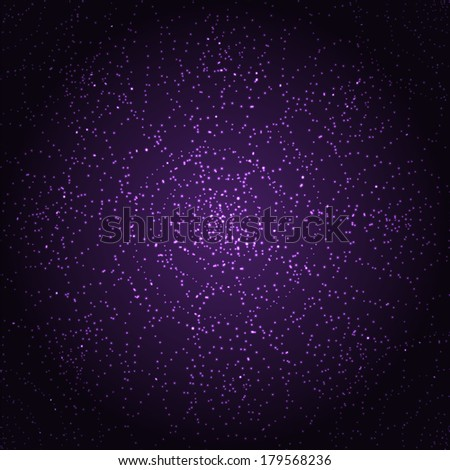 abstract shimmering background.stellar design.space background.vector  - stock vector